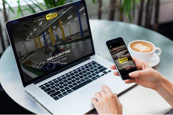 Novo Website Kart Center Matosinhos desenvolvido pela Arroba Digital